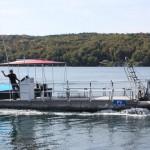National Aquatic Service Pontoon Boat Grandad