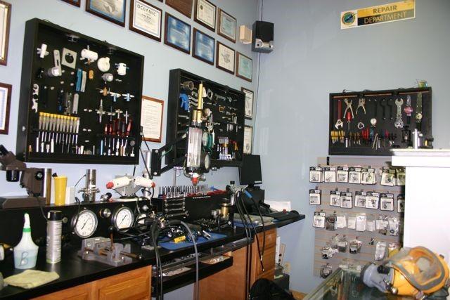 repair department